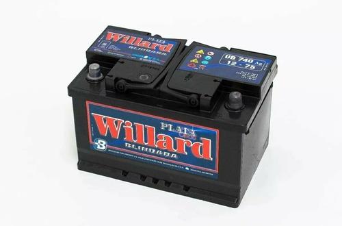 Imagen 1 de 2 de Bateria Willard 70 Amperes 12v Calcio Plata Blindada