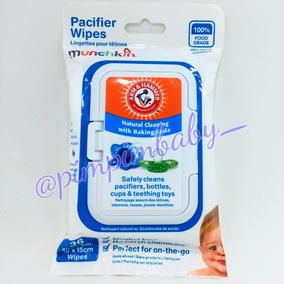 Lenço Para Chupetas Munchkin - Acifier Wipes 36 Unidades