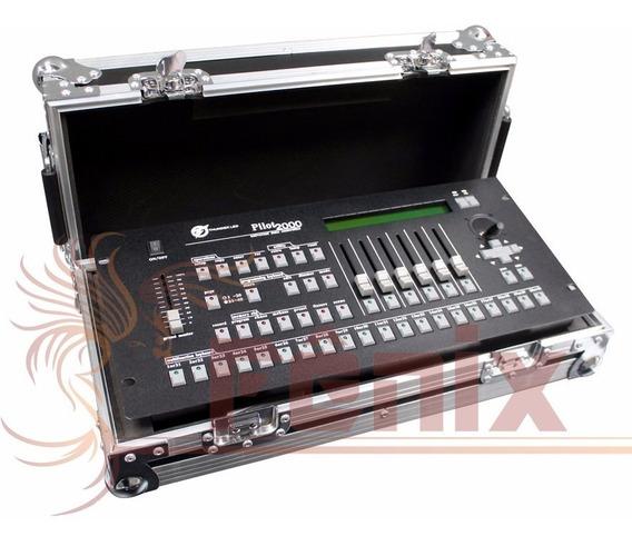 Mesa Controladora Dmx 512 - Pilot 2000 - Com Case - Strobo
