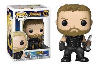 Funko Pop 286 Infinity War Thor Colección Marvel Envío Grati