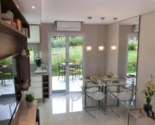 Casa Em Condomínio Para Venda Em Suzano, Chacarra Faggion, 2 Dormitórios, 2 Banheiros, 2 Vagas - 1397