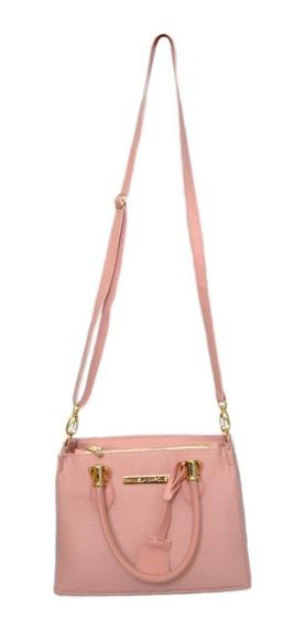 Bolsa Feminina Pequena Lateral Bag Coleção Nova Couro Ecolog