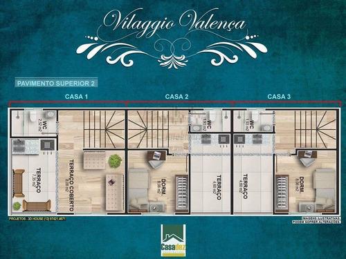 Casa, 2 Dorms Com 100 M² - Vila Valenca - Sao Vicente - Ref.: Fd192 - Fd192
