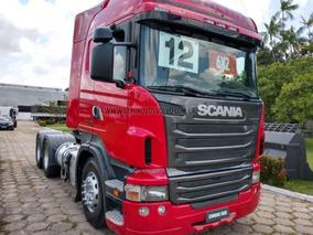 Scania R 440 6x2 Highline Automatica 2012 Vermelha