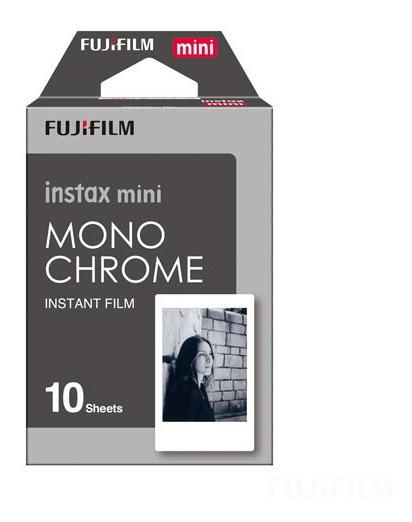 Filme Fujifilm Instax Mini 10 Fotos Monochrome - 705060215