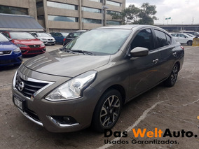 Nissan Versa 1.6 Exclusive Navi At 2015 Seminuevo