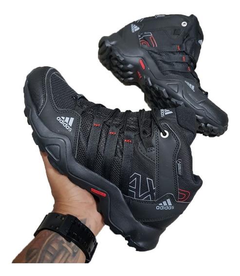 Tenis Zapatillas adidas Ax2 Botas Negras Hombre Deportivas