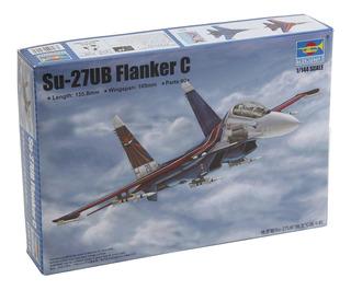 Trompetista 1/144 Su-27ub Flanker C Modelo Coche