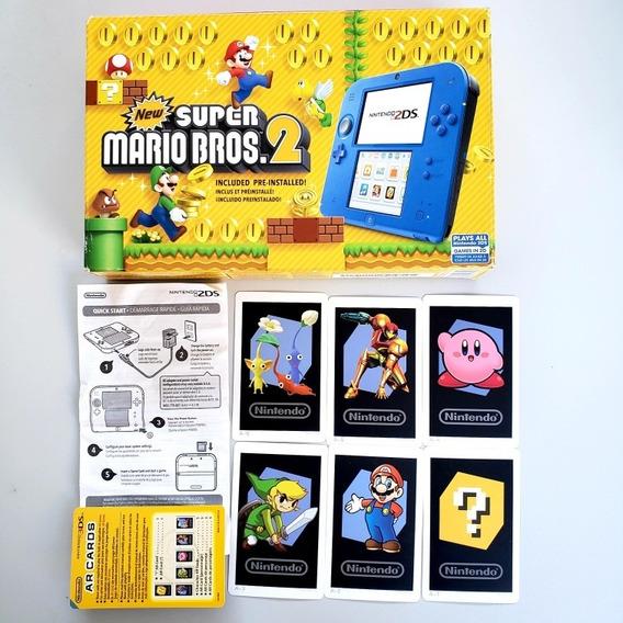 Caixa Vazia Nintendo 2ds New Super Mário Bros 2