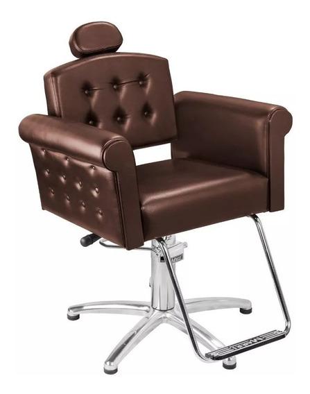 Cadeira Para Maquiagem Hidráulica Reclinável Elegance Marri
