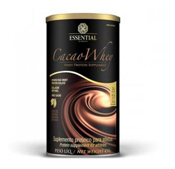 Whey Protein Cacao 450g - Essential Nutrition