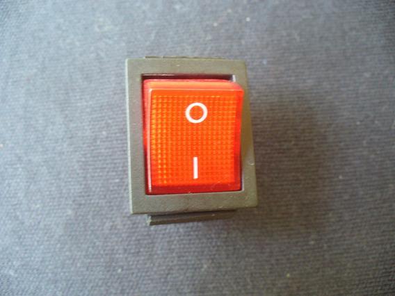 Interruptor Rojo, Doble On- Off- Multi Uso