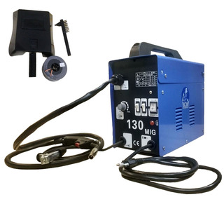 Maquina Mig 130 Nao Usa Gas 127volts +arame Gratis + Brindes