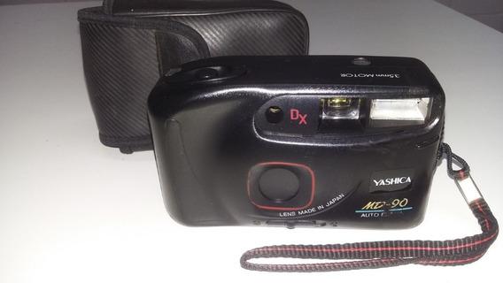 Câmera Yashica Md90 Motor Auto-flash 35 Mm