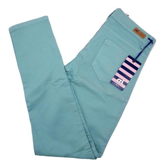 Pantalon Mujer Gabardina Semi Elastizada Moda Mistral Pa542