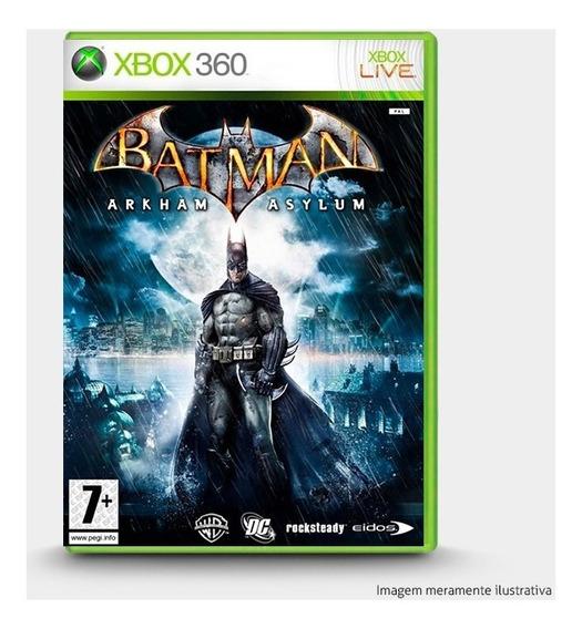 Batman Arkham Asylum - Original Para Xbox 360 - Novo