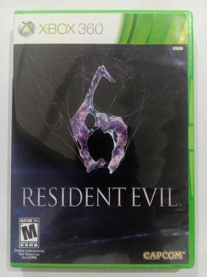 Resident Evil 6 P Xbox 360 Original Frete $14 Veja