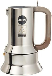 Alessi 9090m Cafetera Espresso Plata