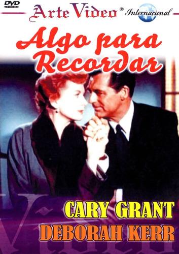 An Affair To Remember / Algo Para Recordar-cary Grant-d.kerr