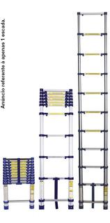 Escada Telescópica Alumínio 3,12m 10 Degraus Everest - Mor