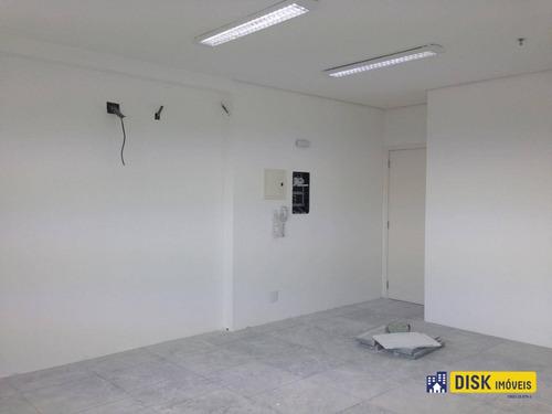 Sala À Venda, 37 M² Por R$ 220.000,00 - Centro - São Bernardo Do Campo/sp - Sa0100