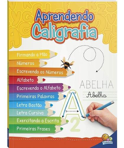 Livro Aprendendo Caligrafia - Volume Unico - Todolivro