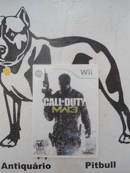 Call Of Duty Modern Warfare 3 Original Nintendo Wii