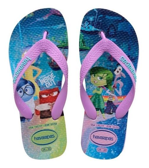 Zonazero Havaianas Ojotas Kids Disney Intensamente Niños