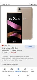 Celular LG Style
