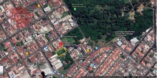 Terreno À Venda, 1087 M² Por R$ 550.000,00 - Jardim Anhangüera - Ribeirão Preto/sp - Te1527