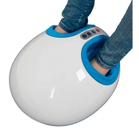 Massageador Para Os Pés Airbag Foot Massager - Supermedy