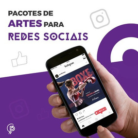 Pacote 5 Artes Social Media Banners Post Facebook Instagram