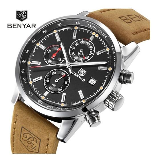 Relógio Esporte Masculino Benyar Modelo By-5102m A Quartzo