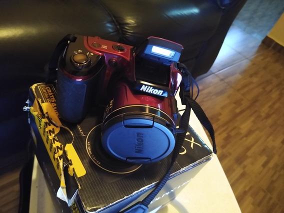 Câmera Fotográfica Semiprofissional Nikon L810