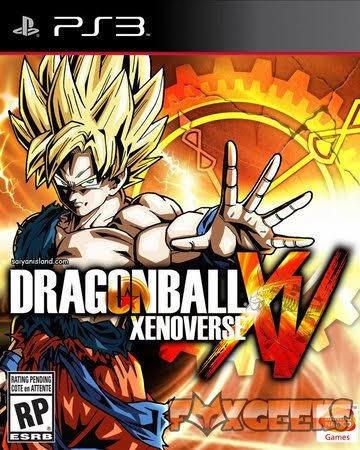 Dragon Ball Xevonerse Ps3 Midia Digital + Leia A Descrição