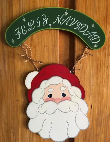 LOLAhome Bel/én de Navidad con Portal y Nacimineto de 4 Figuras de Madera y cer/ámica de 23x9x15 cm