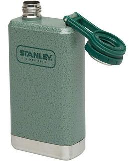 Petaca Clasica Stanley 148 Ml Flasck Licor Camping Verde