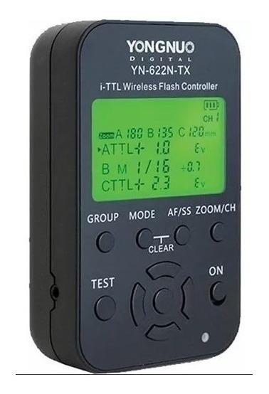 Yongnuo Yn-622n-tx Controlador De Flash Sem Fio I-ttl- Nikon
