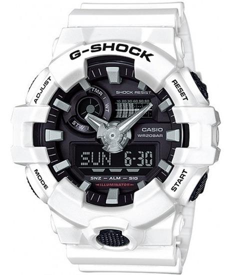 Relógio Casio G-shock Ga-700-7adrbranco / Original