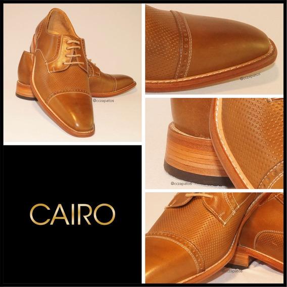 Zapato Cuero Hombre - Modelo Cairo - Diseños Exclusivos