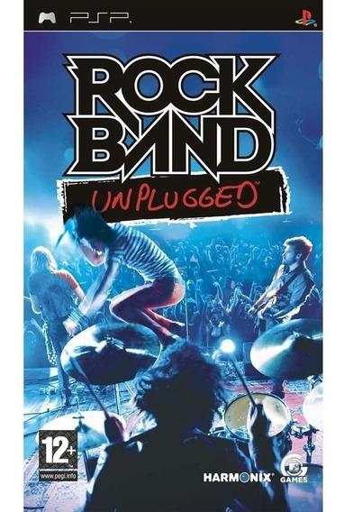 Jogo Rock Band Unplugged Playstation Psp Original