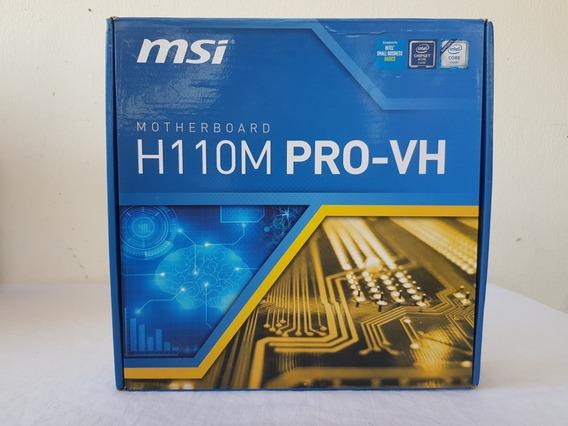 Placa Mãe Msi H110m Pro-vh