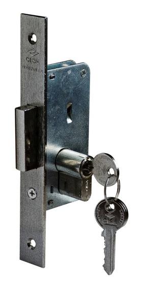 Cerradura De Seguridad 84 25mm (recortada) Cisa