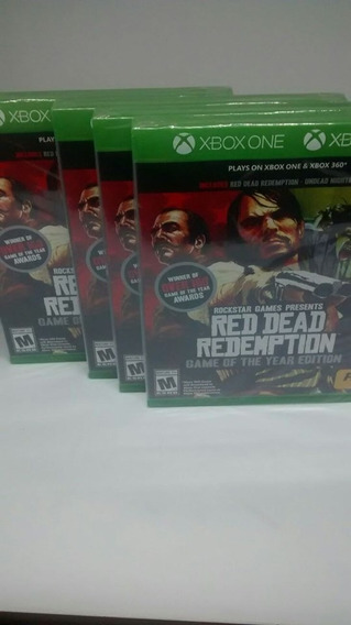 Red Dead Redemption Game Of The Year Edition For Xbox One