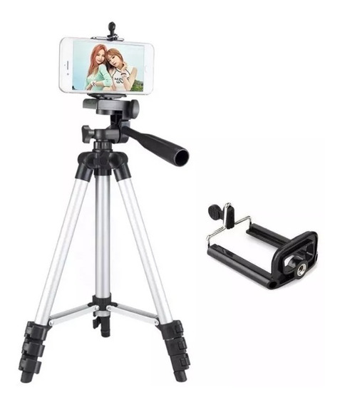 Tripé Fotográfico Profissional 1,30metros Canon, Nikon, Sony