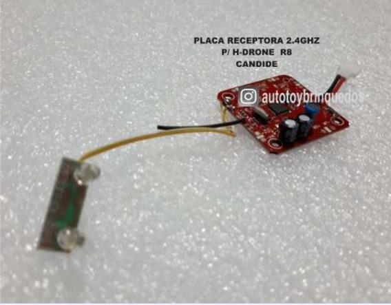 Placa Receptora Drone R8 - H-18 - 1318 - Candide
