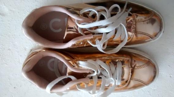 Zapatillas Maria Cher Doradas De 2ª