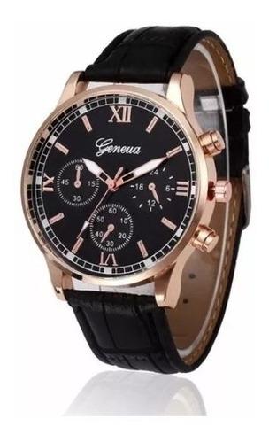 Relógio Masculino Marca Geneva (leia A Descrição)