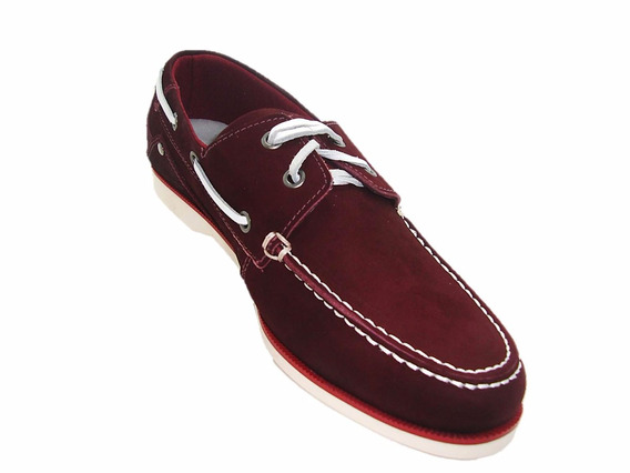 Sapatênis Docside Cotton Bordo 6201 A Pronta Entrega