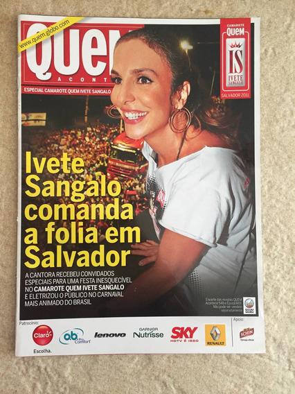 Revista Quem Especial Camarote Ivete Sangalo Salvador 2011